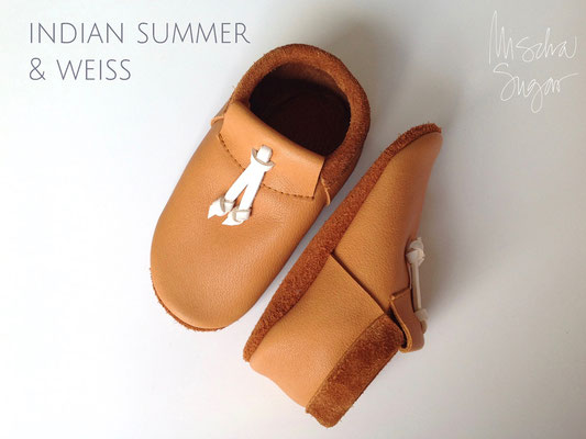 Moccs Knots in indian summer & weiß