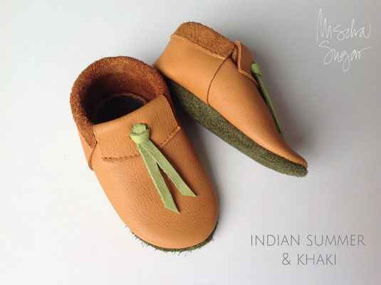 Moccs Knots in indian summer & grün