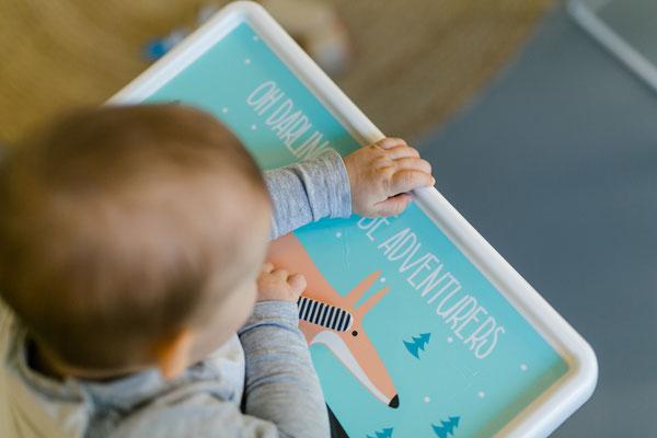 Aufkleber Fuchs für IKEA Hochstuhl Hack ANTILOP