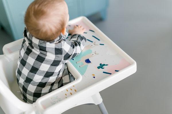Aufkleber Lama für IKEA Hochstuhl Hack ANTILOP