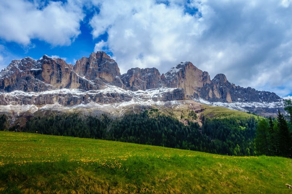 But still a beautifull view to the dolomites!