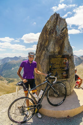 it s said to be the highest road in europe, but there are some higher ones in Spain and Austria.