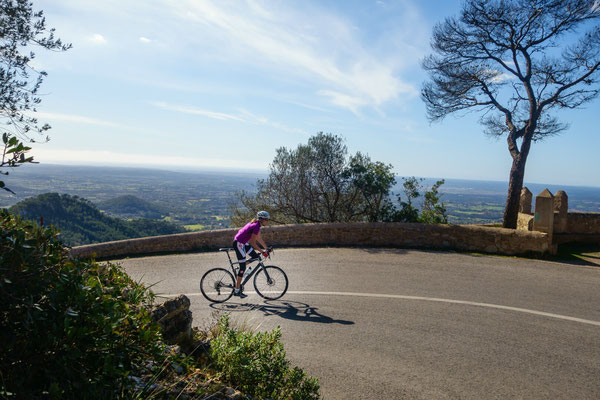Sant Salvador- a really beautiful climb!