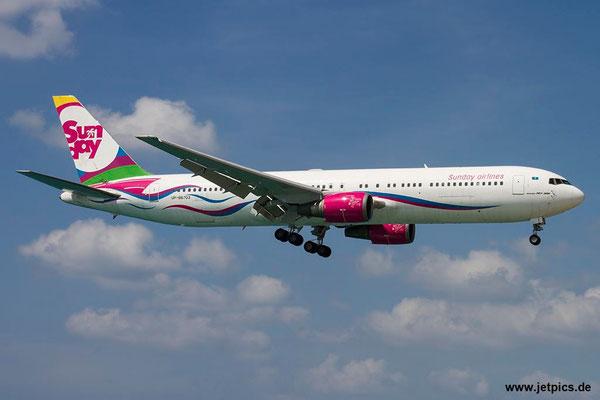 UP-B6703, B767-332ER, Sunday Airlines