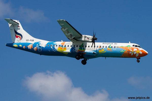 HS-PGB, ATR72-212A, Bangkok Airways