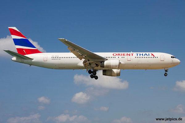 HS-BKA, B767-3W0ER, Orient Thai Airlines
