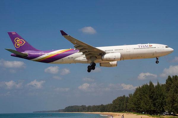 HS-TEP, A330-343E, Thai Airways