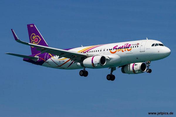HS-TXN, A320-232, Thai Smile