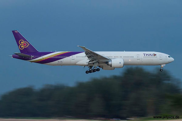 HS-TKO, B777-3ALER, Thai Airways
