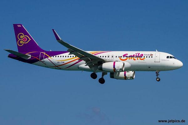 HS-TXM, A320-232, Thai Smile