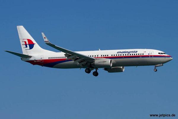 9M-FFF, B737-8FZ, Malaysia Airlines