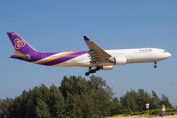 HS-TEH, A330-321, Thai Airways