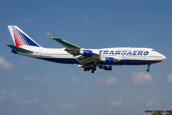 EI-XLL, B747-412, Transaero Airlines