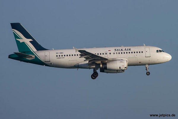 9V-SBH, A319-133, Silk Air