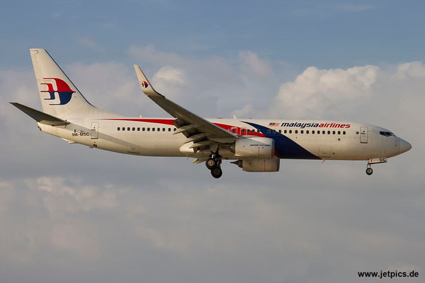 9M-MSC, B737-8H6, Malaysia Airlines