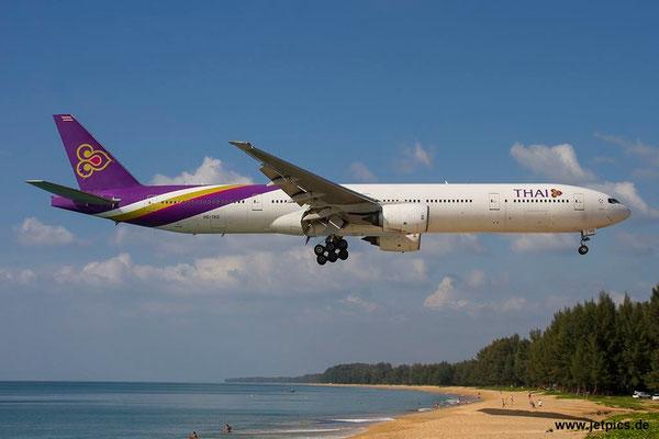 HS-TKD, B777-3D7, Thai Airways