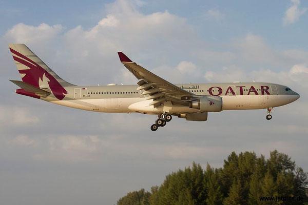 A7-ACE, A330-202, Qatar Airways