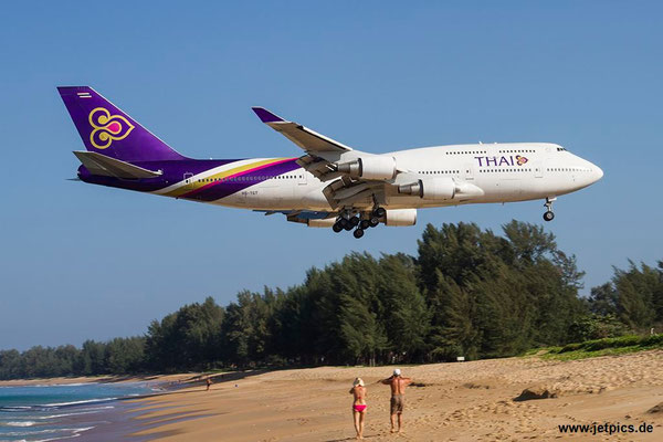 HS-TGT, B747-4D7, Thai Airways
