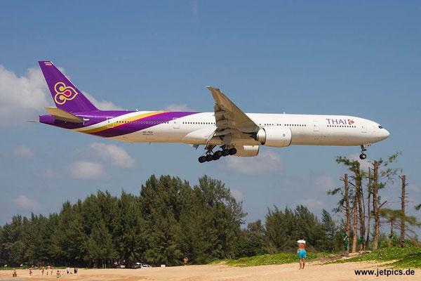 HS-TKV, B777-3D7ER, Thai Airways