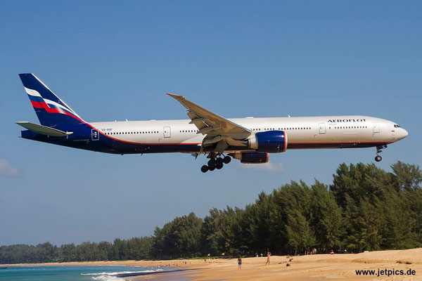VQ-BQF, B777-3M0ER, Aeroflot