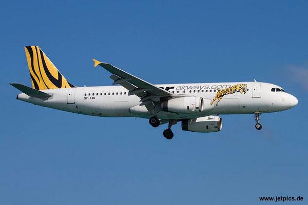 9V-TAN, A320-232, Tigerair