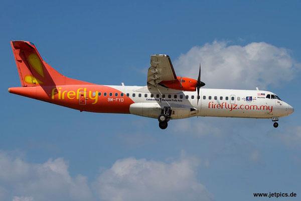 9M-FYD, ATR72-212A, FireFly