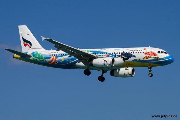 HS-PGW, A320-232, Bangkok Airways