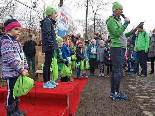 Siegerehrung Kinderlauf