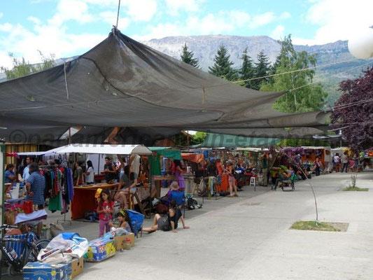 Die Feria - auch von hinten sehr lebhaft