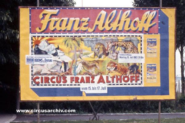 FRANZ ALTHOFF - 1963