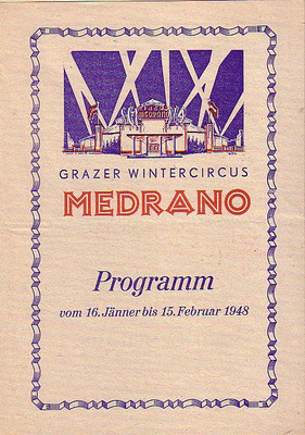 1948 - wintercircus in graz