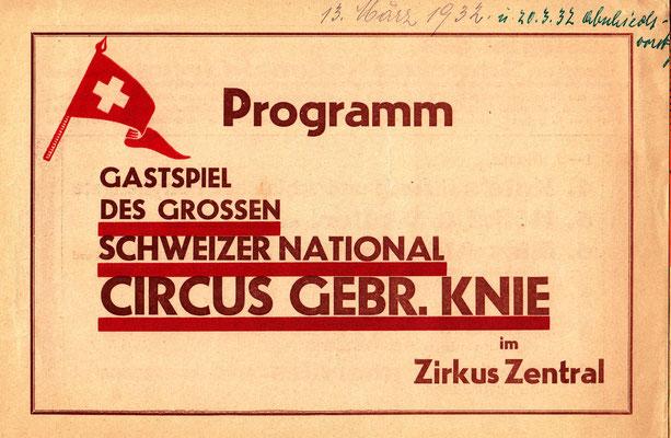 März 1932