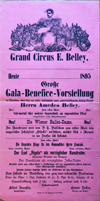 Circus Amedeo Belley 1895