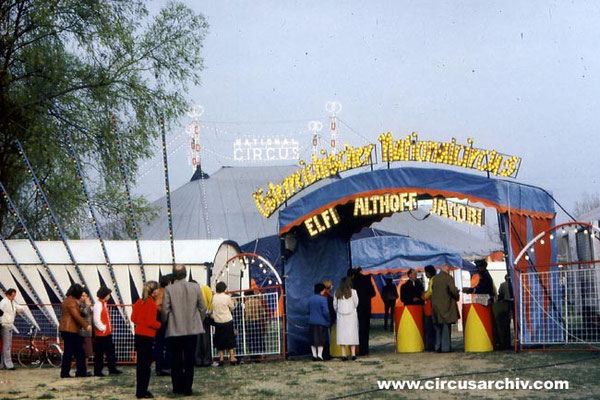 ÖSTERR. NATIONALCIRCUS - ALTHOFF-JACOBI - 1985