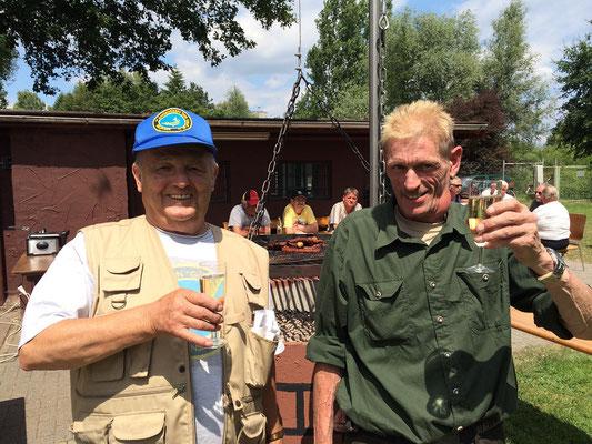 AV-Gebemm Erlensee // Angelverein // Sommerfest 2014 // Die Grillbauer Theo und Max