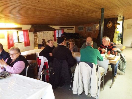 AV-Gebemm Erlensee // Angelverein // Spanferkelgrillen Januar 2015