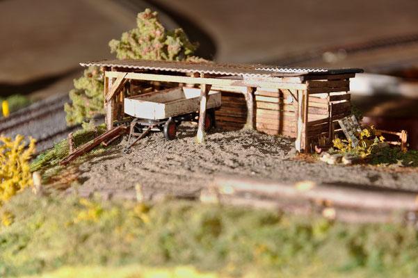 Noch ein Detail der auf der Anlage der Eisenbahnfreunde Bad Schwartau