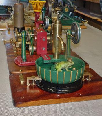 Dampfbetriebener Brunnen