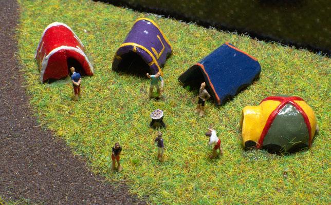 Grillen beim Campen
