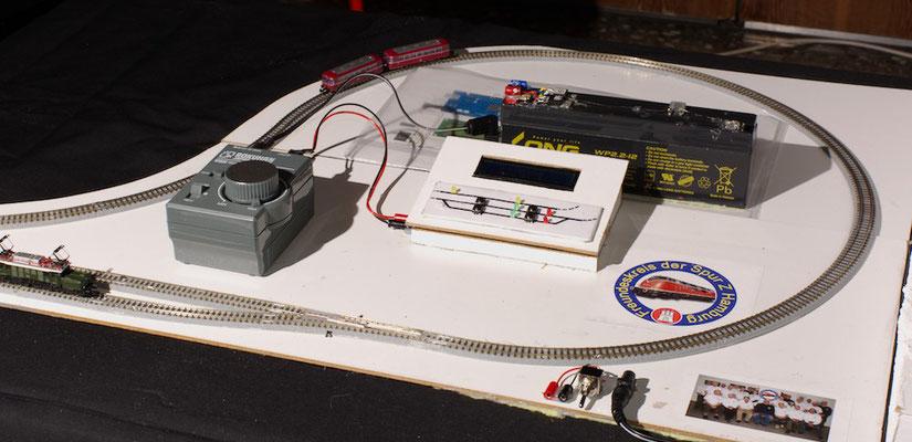 Ulis Demostrationsanlage zum Arduino