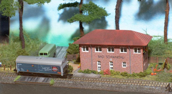Stellwerk Bad Schwartau in Spur Z