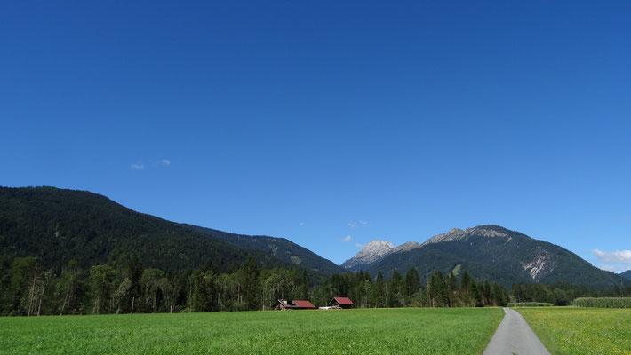 Herrliches Sommerwetter bei unserer Radtour