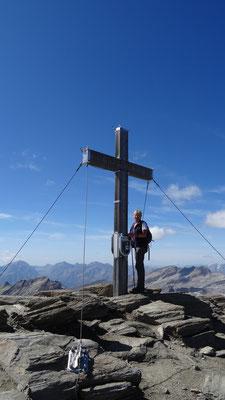 am Gipfel Scharek 3.122 m