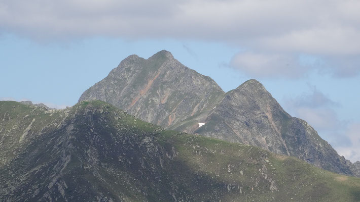 Weiter auf den 2. Gipfel zum Stagor