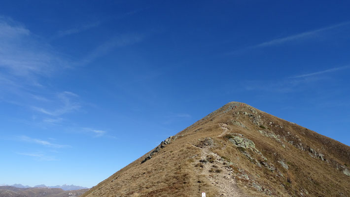 Aufstieg zum Pfannock