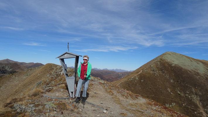 Gipfel kleiner Pfannock 2.090 m