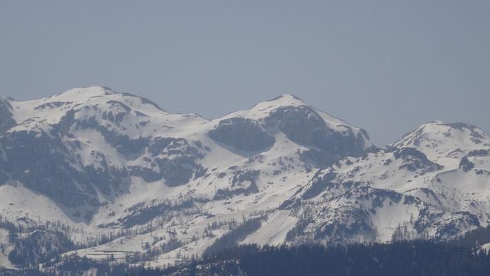 am Nassfeld (Bergstation) ist noch Winter