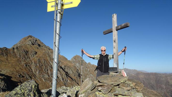 Gipfel Hohe Grände 2.329 m