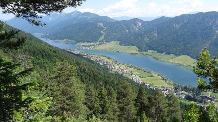Abstieg nach Oberdorf (Weissensee)