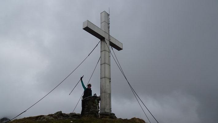 Gipfelkreuz Knoten